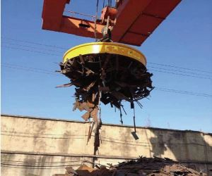 Scrap Yard Electro Magnet for Sale