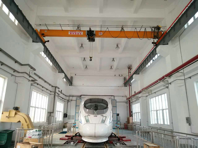 European Design Remote Control Roof Mobile Crane