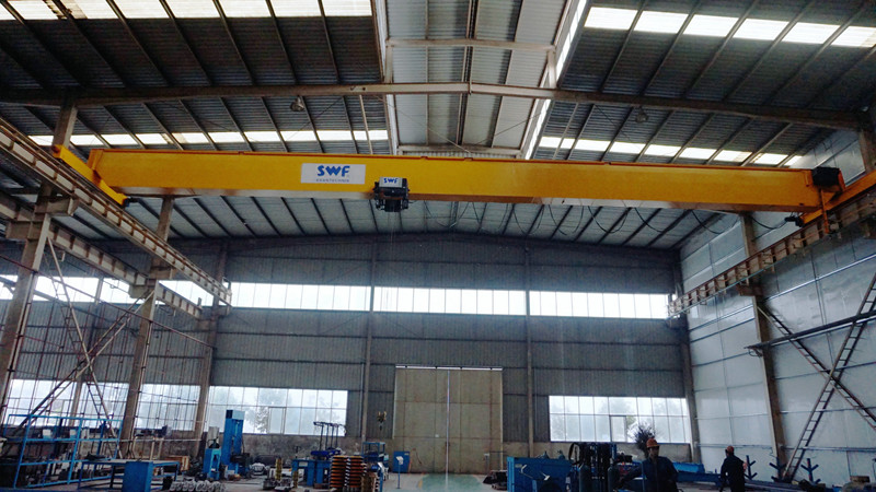 High Reliable Control Single Girder Hoist Crane