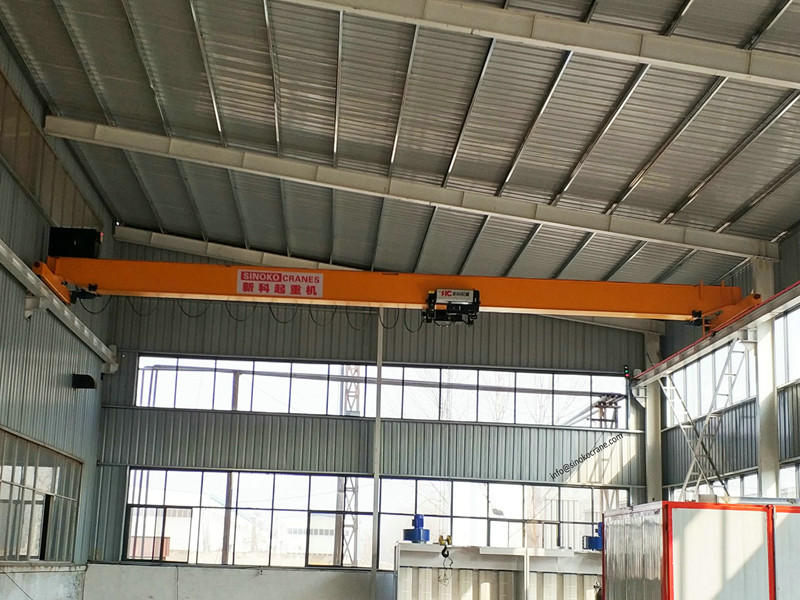 High Reliable Control Top Running Monorail Crane