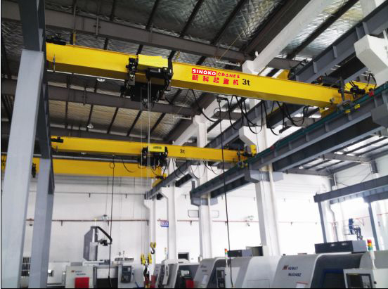 10 ton Double Speed Control Overhead Crane