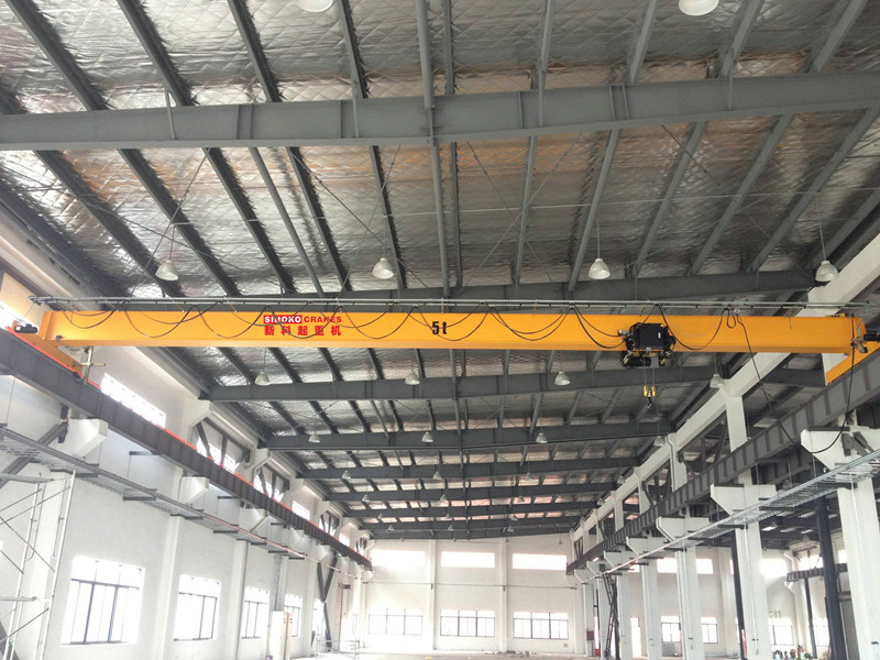 Single Girder Top Running EOT Crane