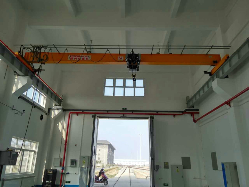 Swivel Hook Type Monorail Crane