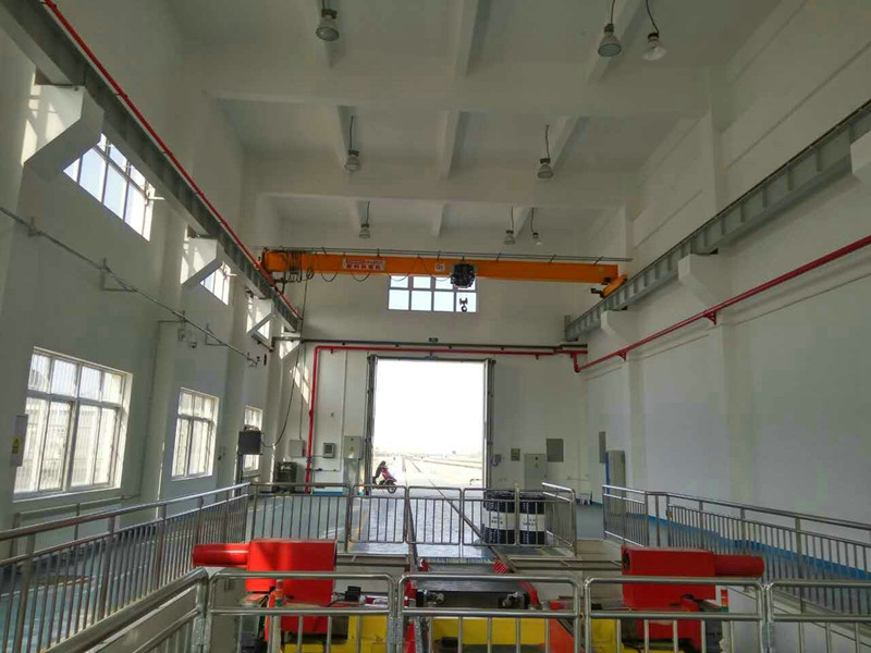 European Design Smooth Speed Single Girder Bridge Crane