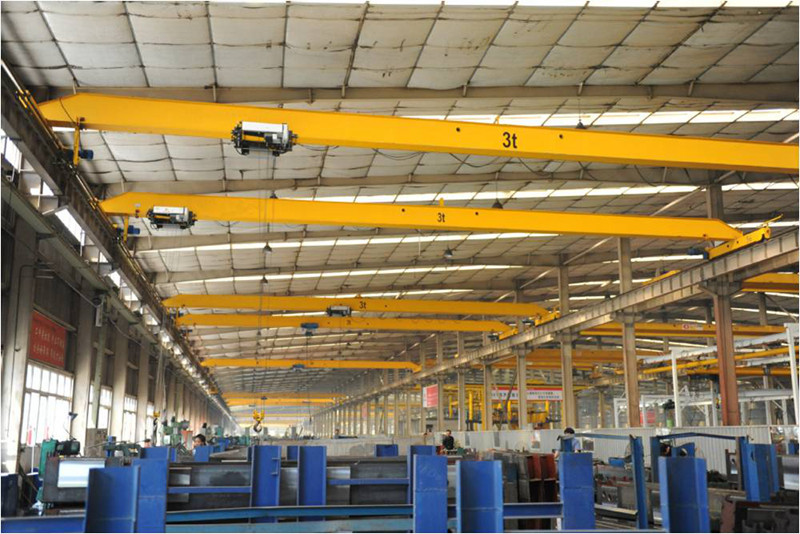 Workshop Lifting Equipment Monorail Traveling Crane