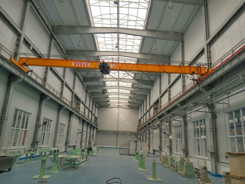 Wireless Control Monorail EOT Crane