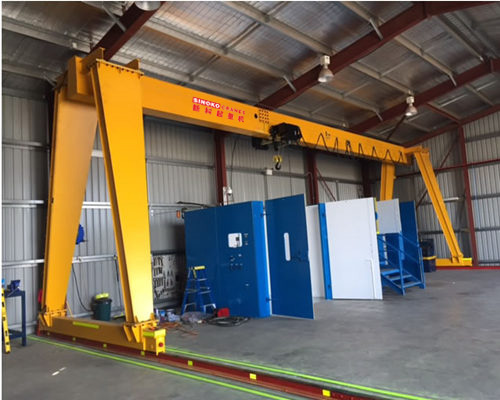 VVVF Control 10t Single Girder Gantry Cranes
