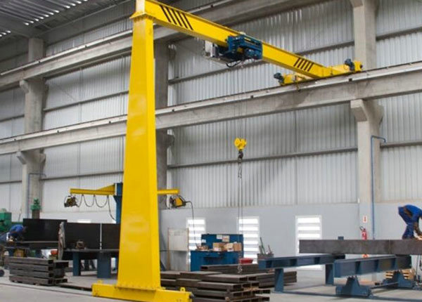 Soft Start Motor Driven 10T Semi Gantry Crane