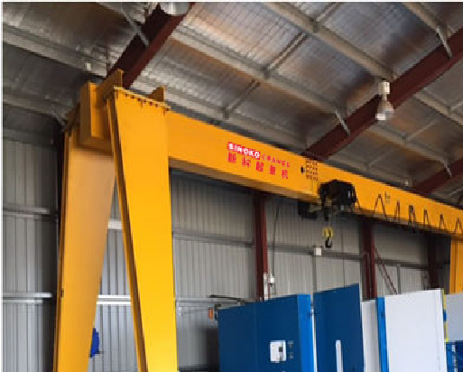 Workshop Remote Control Single Beam Gantry Crane