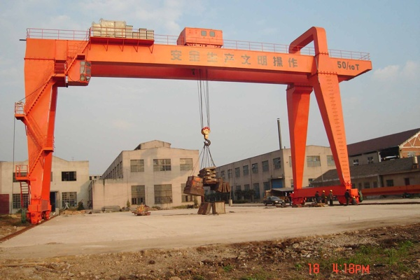 30T Dual Beams  Gantry Crane