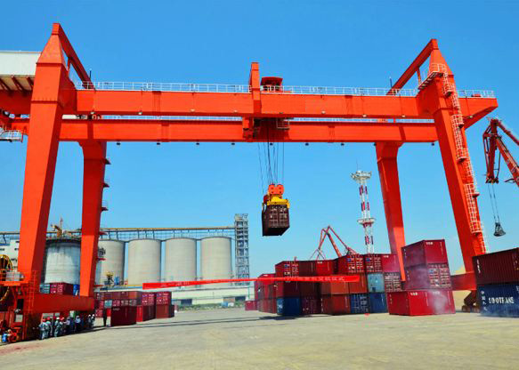 50Ton Outdoor Bridge Gantry Crane