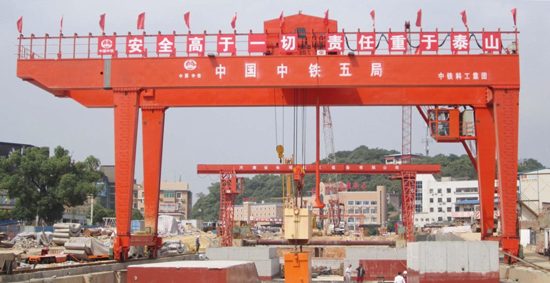 Outdoor Cargo Yards Gantry Crane Machine
