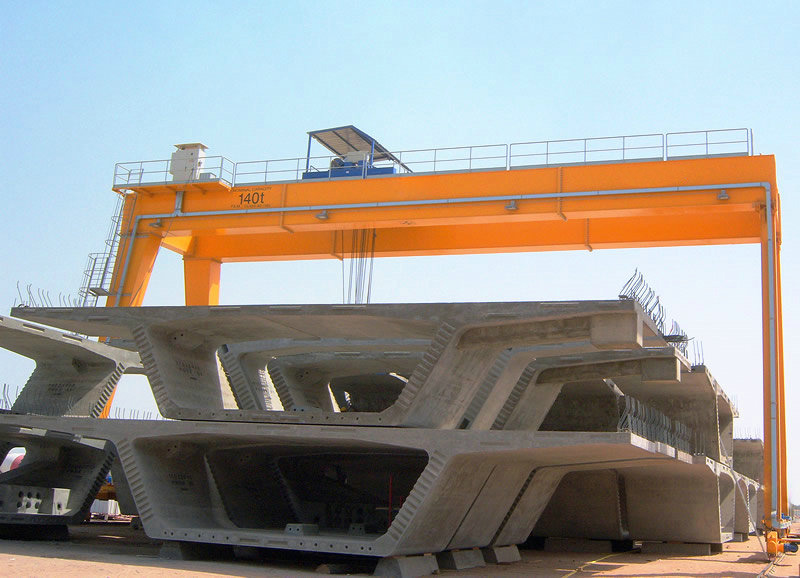 Heavy Duty Shipbuilding Gantry Crane