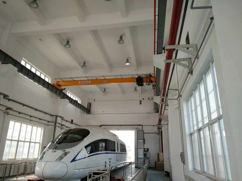 Variable Speed Single Girder EOT Crane