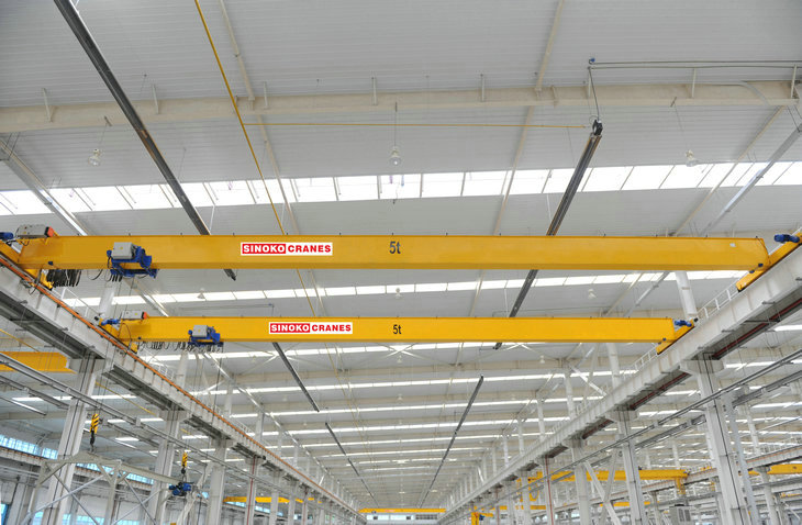 Smooth Speed Single Girder Monorail Crane
