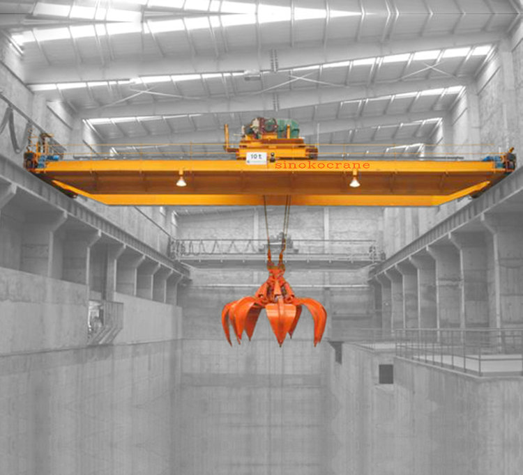 30T Garbage Grab Bucket Crane