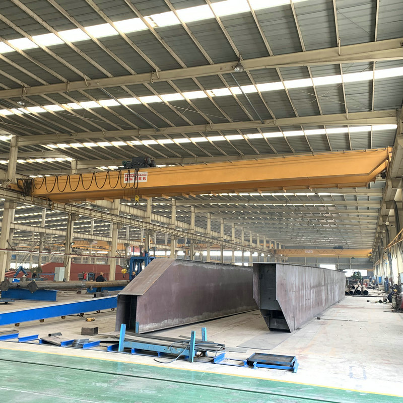 15 t European design wireless remote control double girder overhead indoor crane