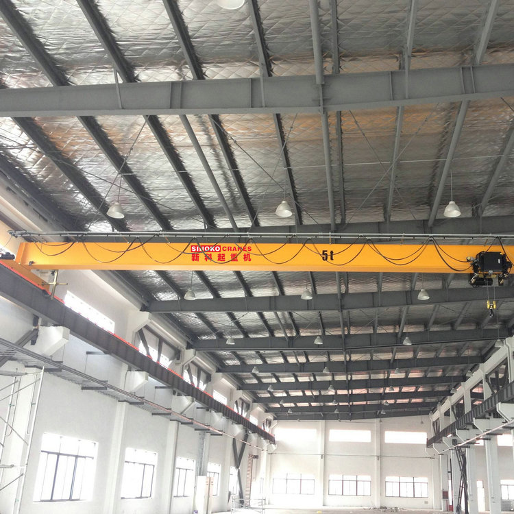 European type single girder overhead indoor crane
