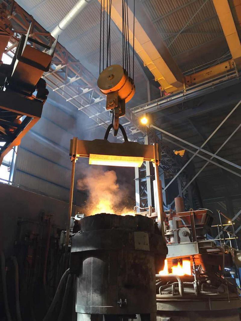 Double Girder Ladle Handling Cranes Steel Making Double