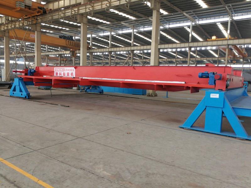 Factory Overhead Crane Steel Structure | 20 Ton EOT Bridge Crane