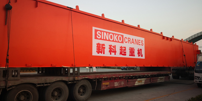 NEWEST SHIPMENT 140T/70T LADLE HANDLING CRANE FOR HEBEI XINDA STEEL GROUP
