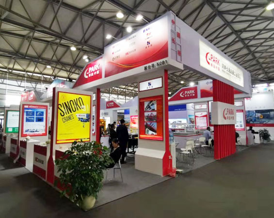 CeMAT ASIA Launches at Shanghai New International Expo Centre, Sinokocranes Strikes Strongly