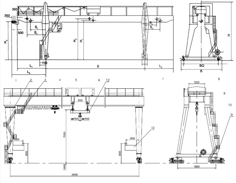 C:\Users\Administrator\Desktop\double beams gantry  cranes34.jpg
