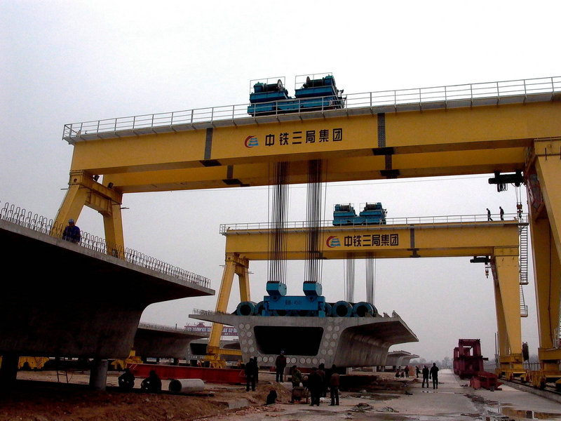 C:\Users\Administrator\Desktop\Highway Construction 450T Beam Lifting Gantry Crane.jpg