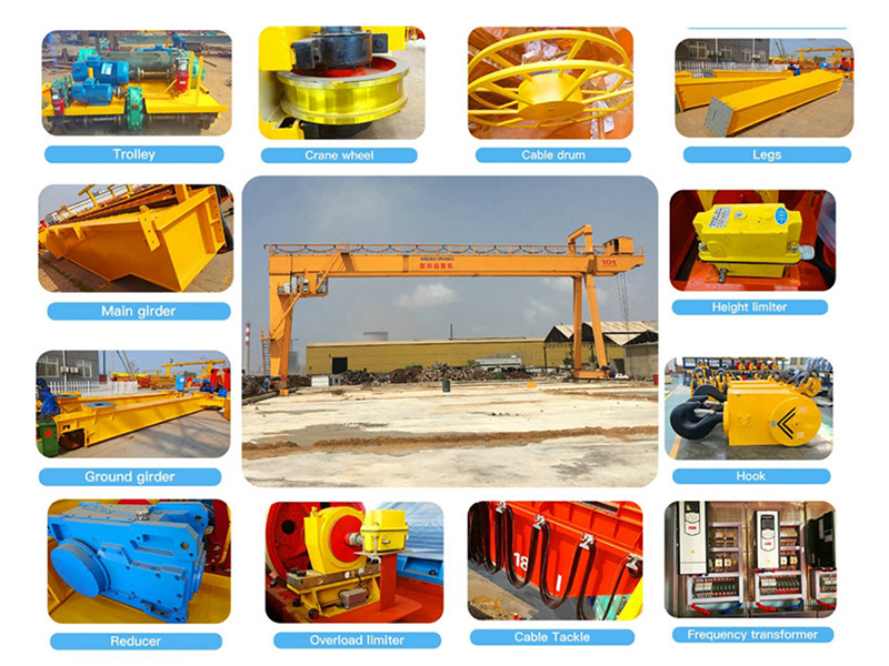 Parts of Double Girder Gantry Crane.jpg